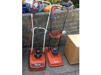 Lawnmower s two vintage electric flymo lawn mowers work well £15 each