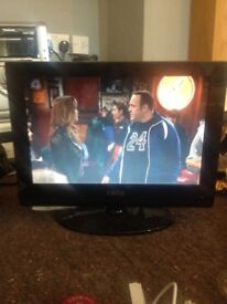 Cello 21 inch tv built in freeview