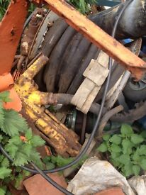 Landrover series 3 hydraulic breaker