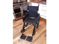 Wheelchair - 16 inch - Puncture Proof tyres - like new £50