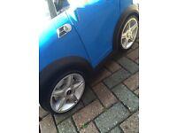Mini Cooper S electric car