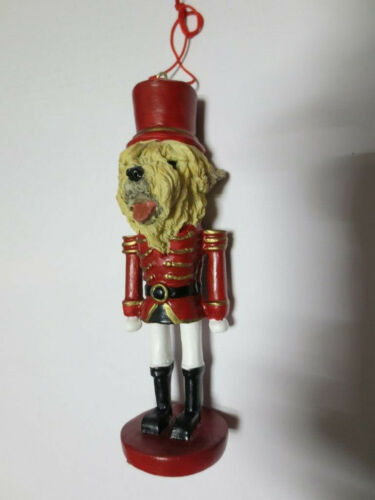 WHEATEN TERRIER  ~ NUTCRACKER DOG SOLDIER ORNAMENT #41