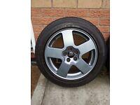 AUDI 16inch Alloys and Pirelli P6000 Tyres