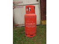 Propane Cylinder/Bottle, Empty, Calor Gas 19kg size