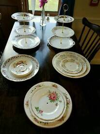 Afternoon tea cake stands etc