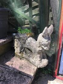Garden Stone Donkey