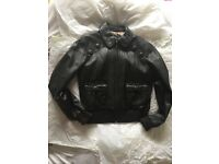 Immaculate Next leather Bomber - size 12