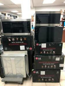 ASSORTED STOCK LG MICROWAVES