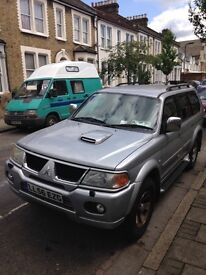 Mitsubishi Shogun for Hire