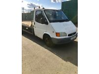 1999 FORD TRANSIT RECOVERY TRUCK, GOOD ENGINE AND GEARBOX, 16FOOT BED, MOT TILL DECEMBER 2017 £1500
