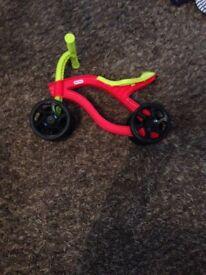 Little tikes baby/toddler training bike