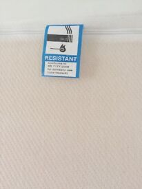 SUPREME 20CM DENSITY FOAM MATTRESS WITH MICRO-QUILTED COVER (EXCELLENT CONDITION)