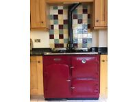 Beautiful Redfyre Cooker, great condition, serviced November 2016.