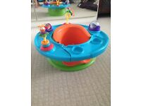 Baby activity ring seat