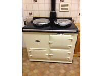 Reconditioned Aga Ranger Gas Cooker with Hot Water Back Boiler