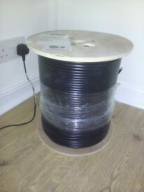 Coaxial cable 1000ft/305mtrs. Brand new full reel £25 no offers