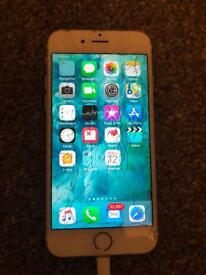 iPhone 6s 64gb gold (please read full ad)