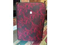 Tripp large fabric suitcase