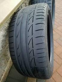 4x Bridgestone Potenza S001, BMW, Runflat, R18