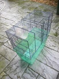 Reptile cages x 4