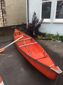 Four Person Canadian Canoe