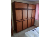 PAIR OF LARGE WARDROBES IN YEOVIL