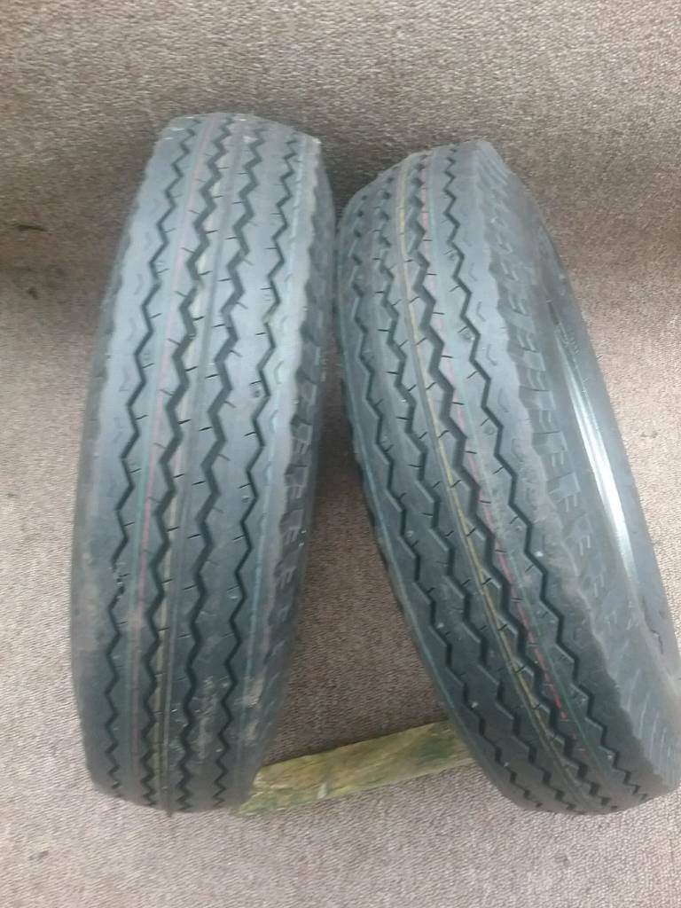 TRAILER WHEELS 400X8 EXCELLENT CONDITION!