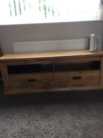 TVs unit for sale excellent condition only had 2 months selling due to house move