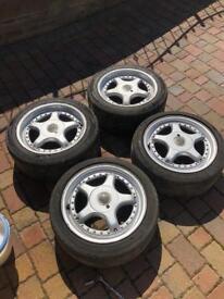 Porsche Compomotive PS701 Split Rim Alloy Wheels BBS 911 944