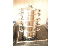 STAINLESS STEEL TOWER STEAMER