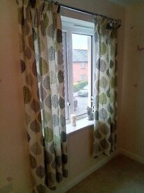 Dunelm Lined Curtains