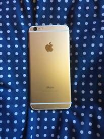 iPhone 6 Plus Gold 64GB Unlocked with 4 phone cases