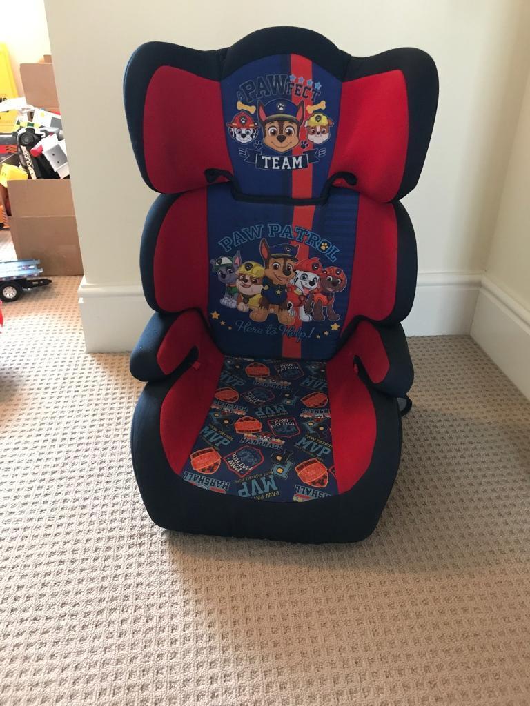Paw Patrol Toddler Car Seat