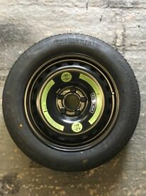 Merc C CLass space saver spare wheel as new from a 2006 Model