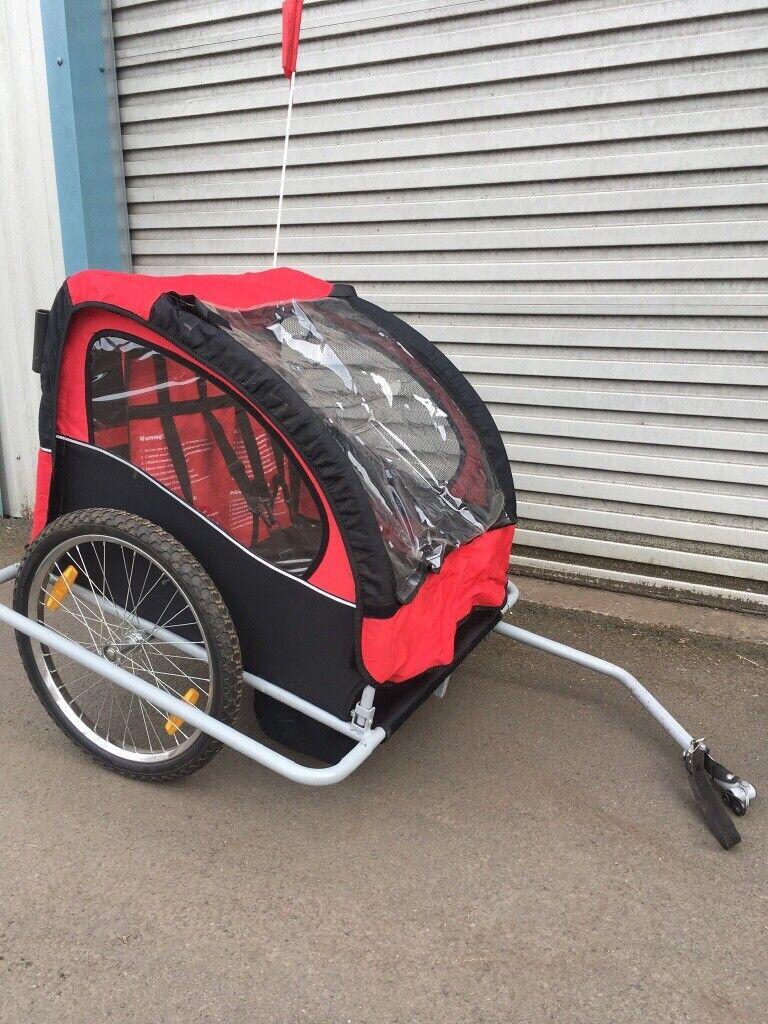 2 seater bike trailer baby/child/dog   in Bonnybridge, Falkirk   Gumtree