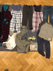 Boys bundle of clothes aged 9-10
