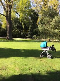 Bebetto Holland 3in1 pram/pushchair/stroller