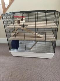 Hamster/ gerbil cage.