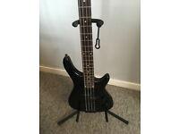 Manito 4 String P/J Bass guitar Black