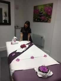 Hot oils full body relaxing Massage or Deep tissue Massage are available.!