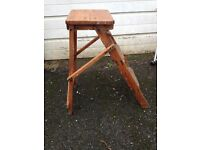Vintage/Rustic Step up / ideal for getting into your kitchen cupboards