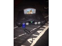 Nintendo 64 1 pad 1 game all wires £50 ono