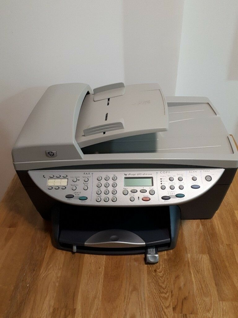 Hp Officejet 6110 All In One Printer Free Local Delivery