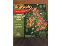 Jigraphy - limited edition football jigsaw
