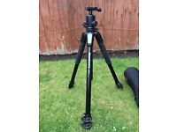 Manfrotto 055 Xpro Tripod with Vanguard TBH-300 Ball Head
