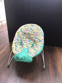 Baby bouncer chair - excellent condition