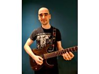 Qualified, experienced guitar tutor, in person/zoom lessons North Belfast
