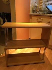 Great Condition - Homebase Shelving Unit / Side Table