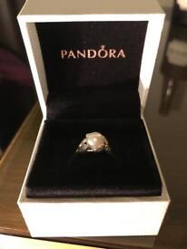 Pandora Pearl Ring (Size 52)