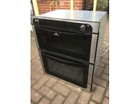 Newworld Gas Built-under Oven Black & Stainless Steel
